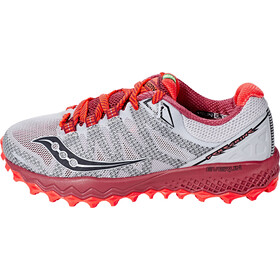 saucony Peregrine 7 Chaussures de trail Femme, silver/berry